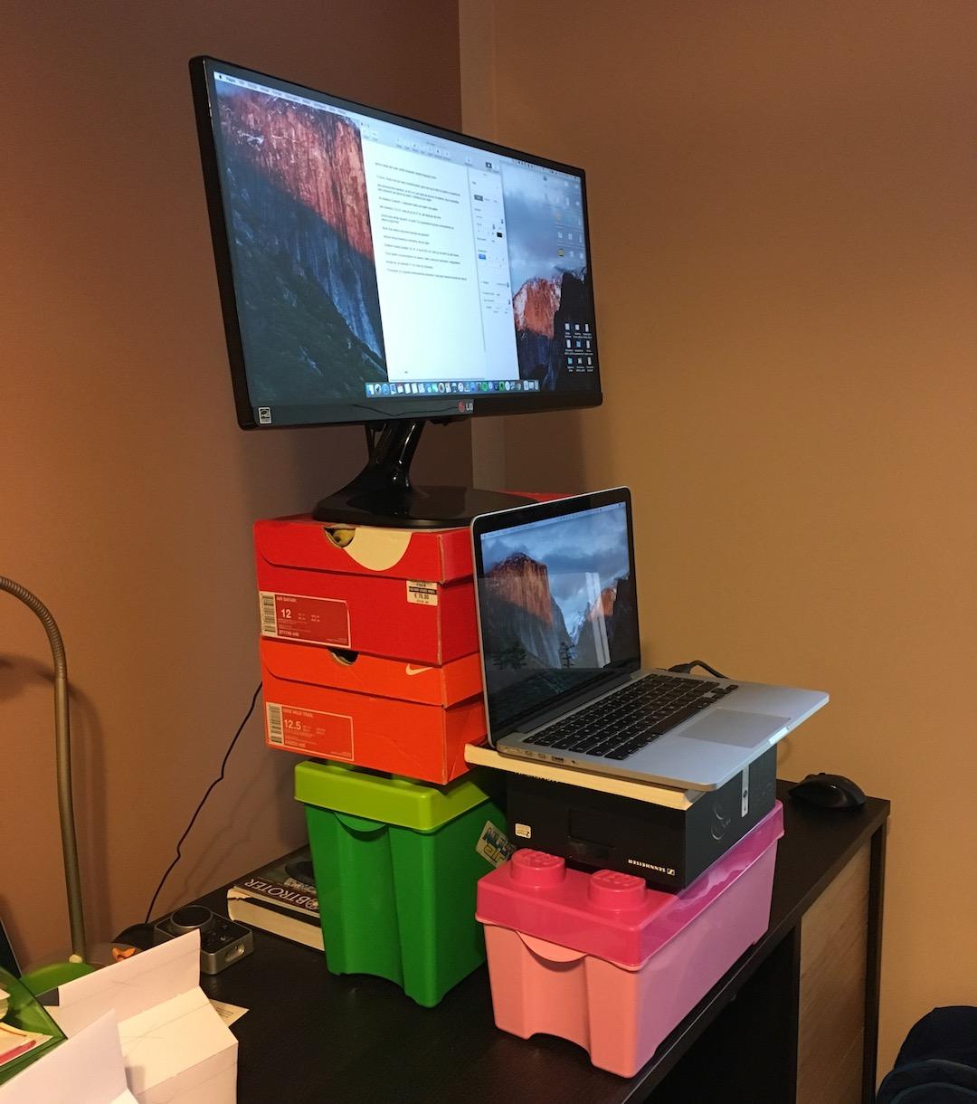 Cum să construiești singur o stație de lucru permanentă - standidesk